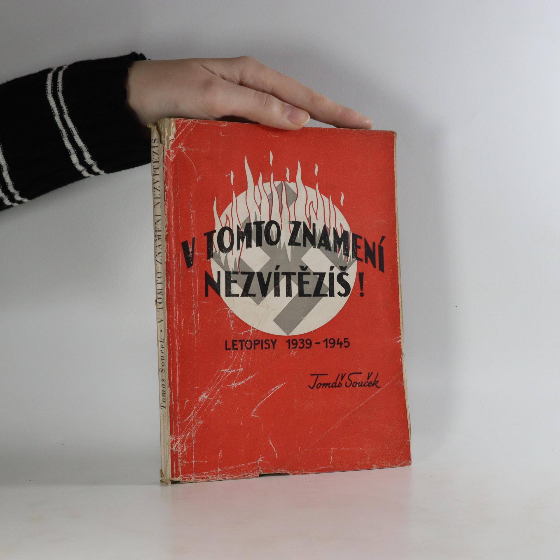 antikvární kniha V tomto znamení nezvítězíš!, neuveden