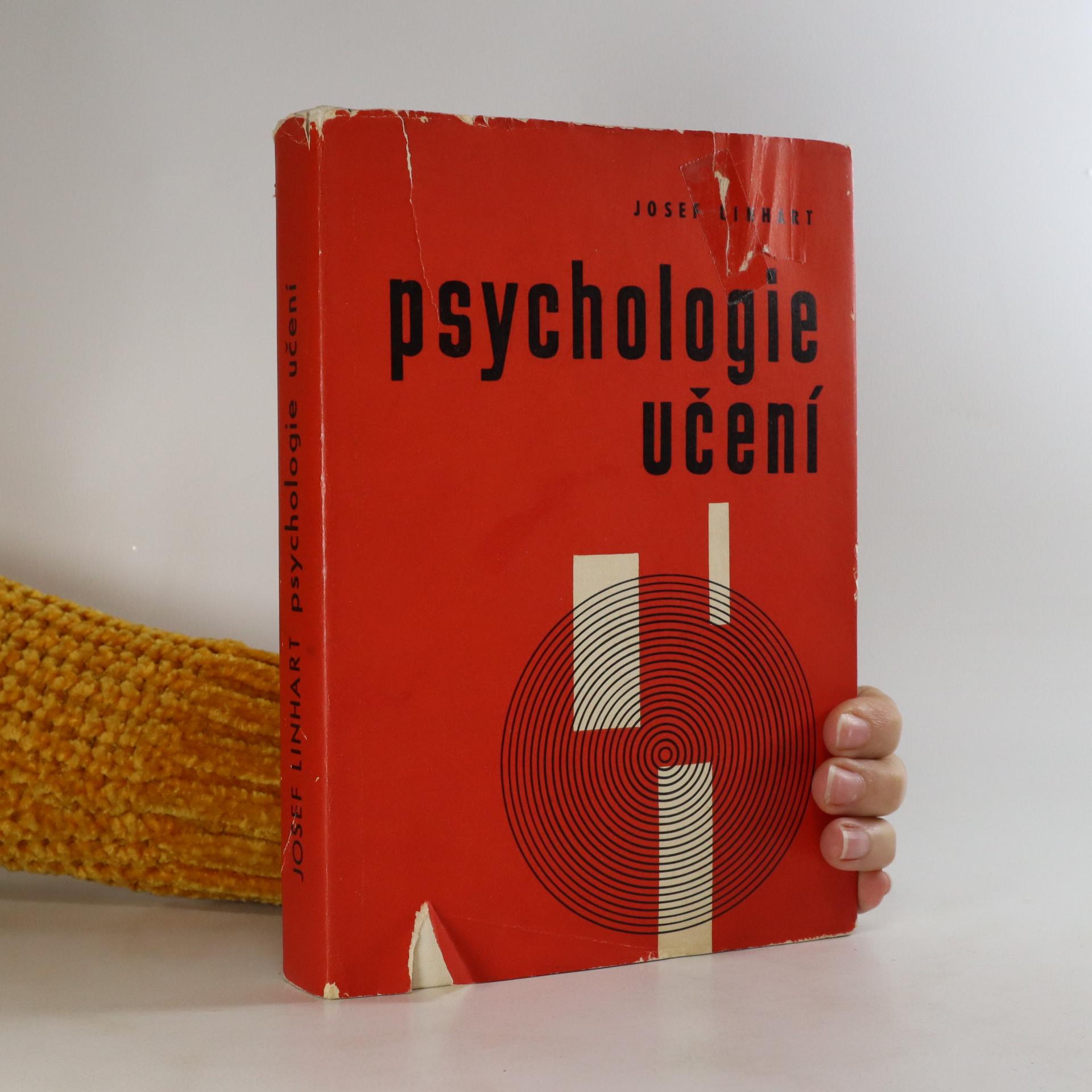 antikvární kniha Psychologie učení, 1967