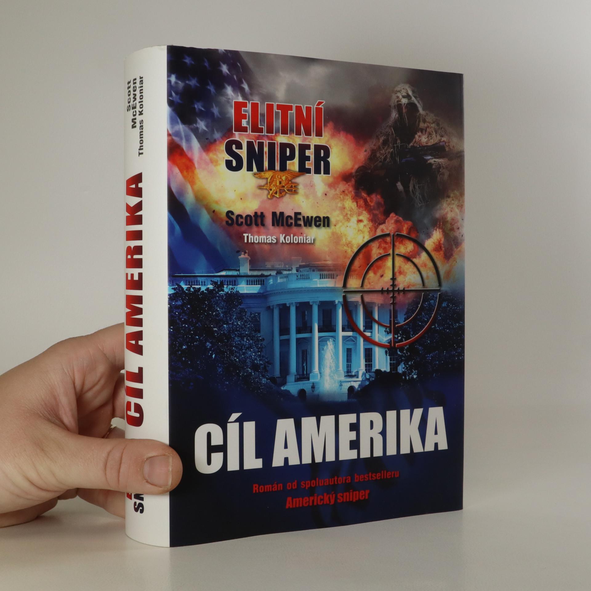 antikvární kniha Elitní sniper. Cíl Amerika, 2015