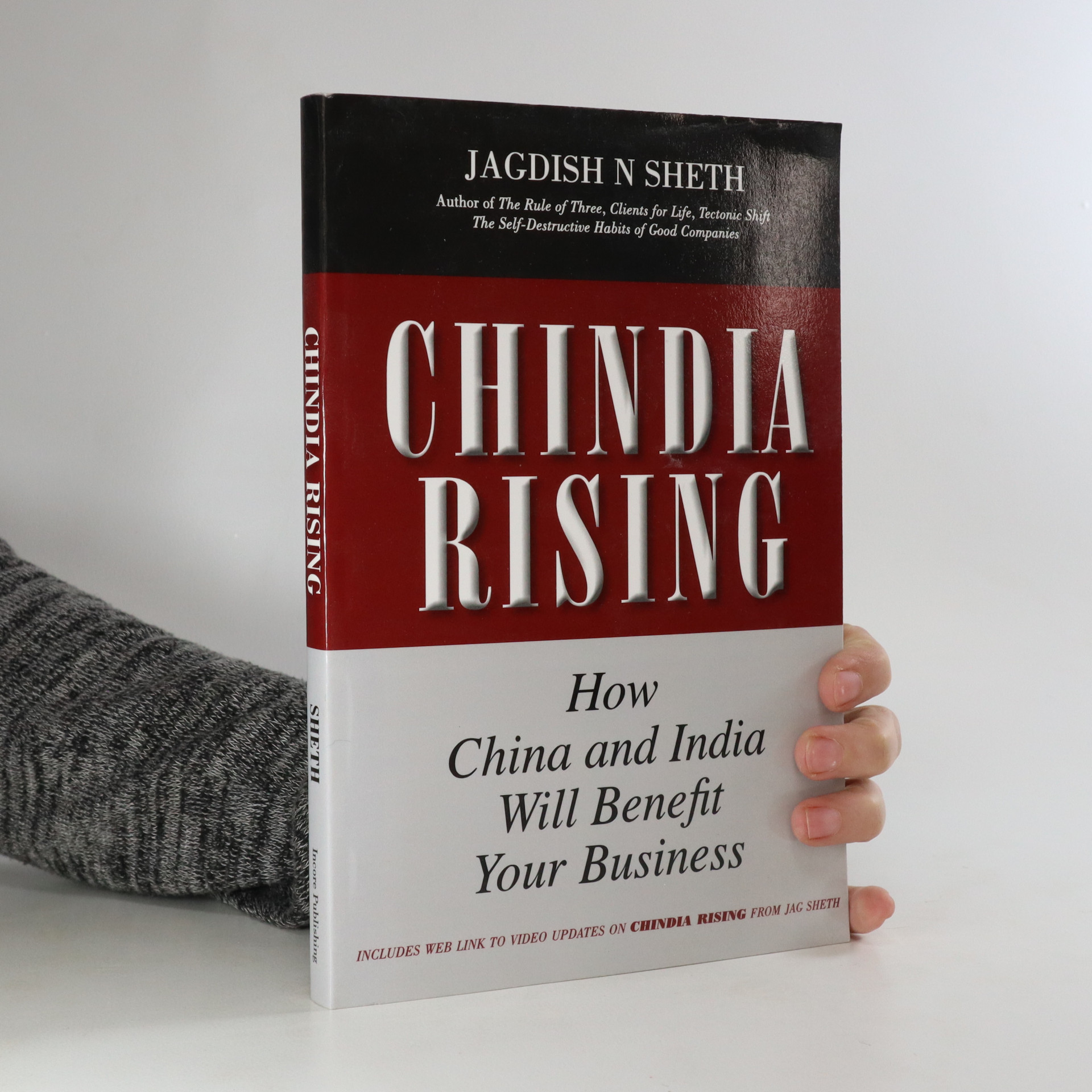 antikvární kniha Chindia rising. How China and India will benefit your business, neuveden