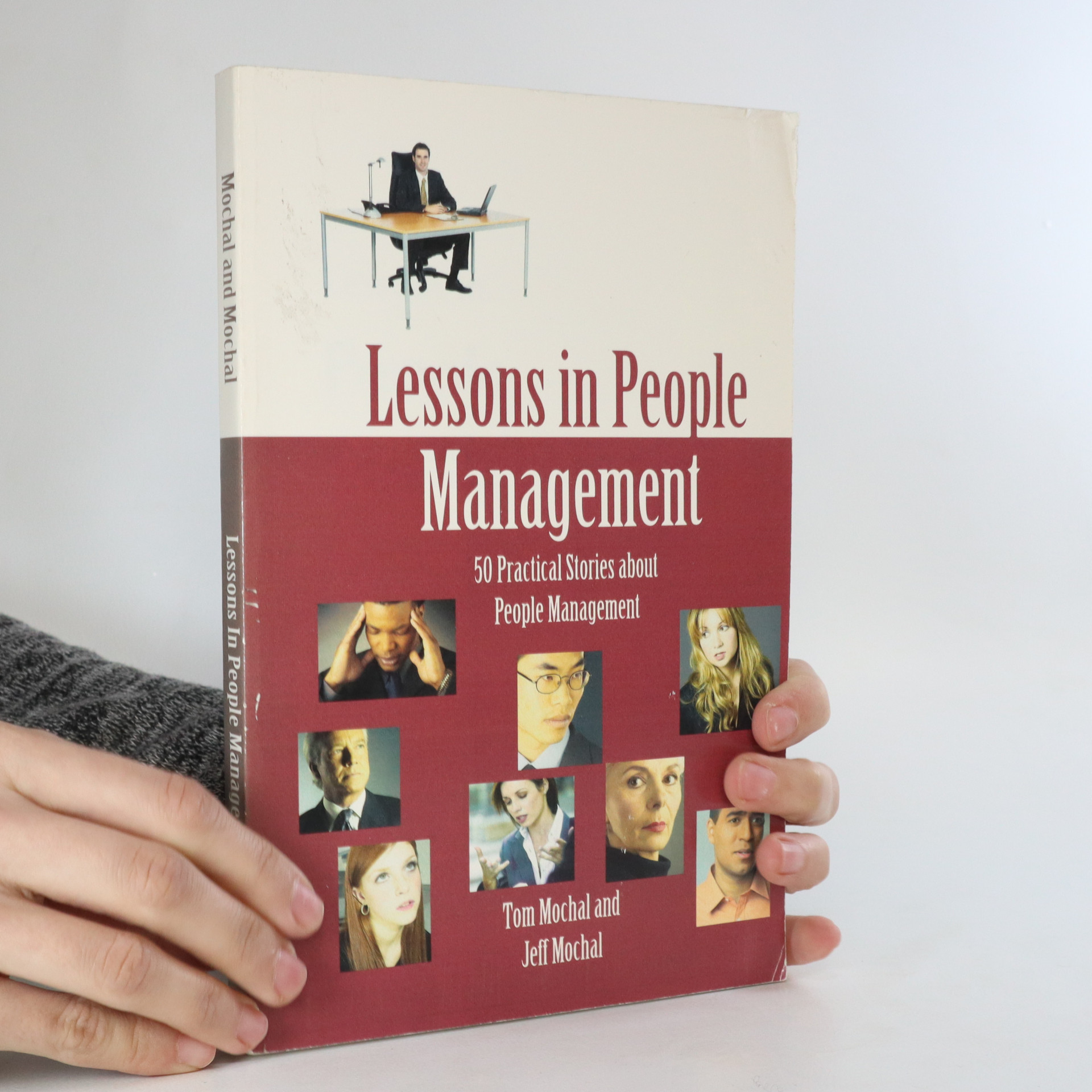 antikvární kniha Lessons in People Management, neuveden