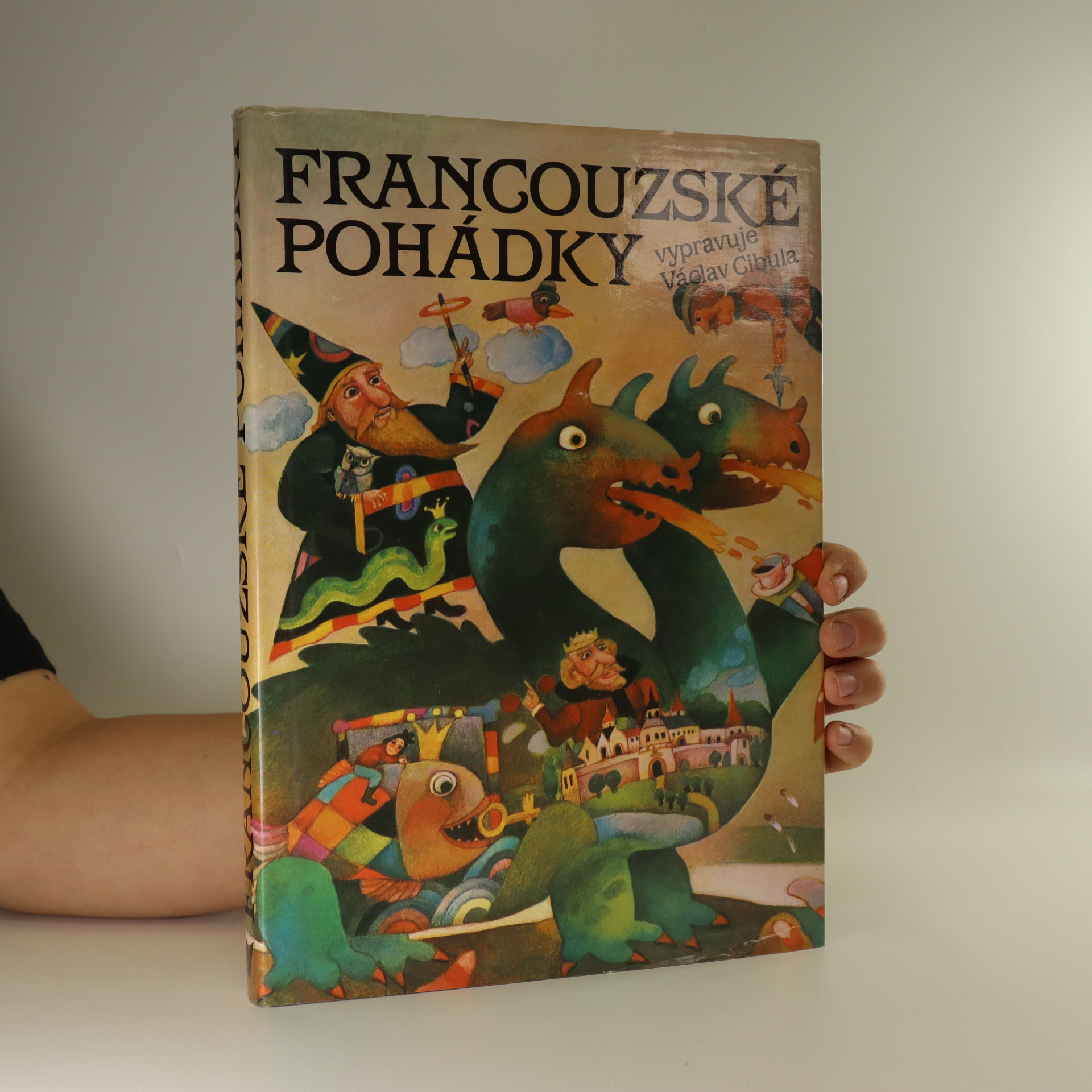 antikvární kniha Francouzské pohádky, 1991