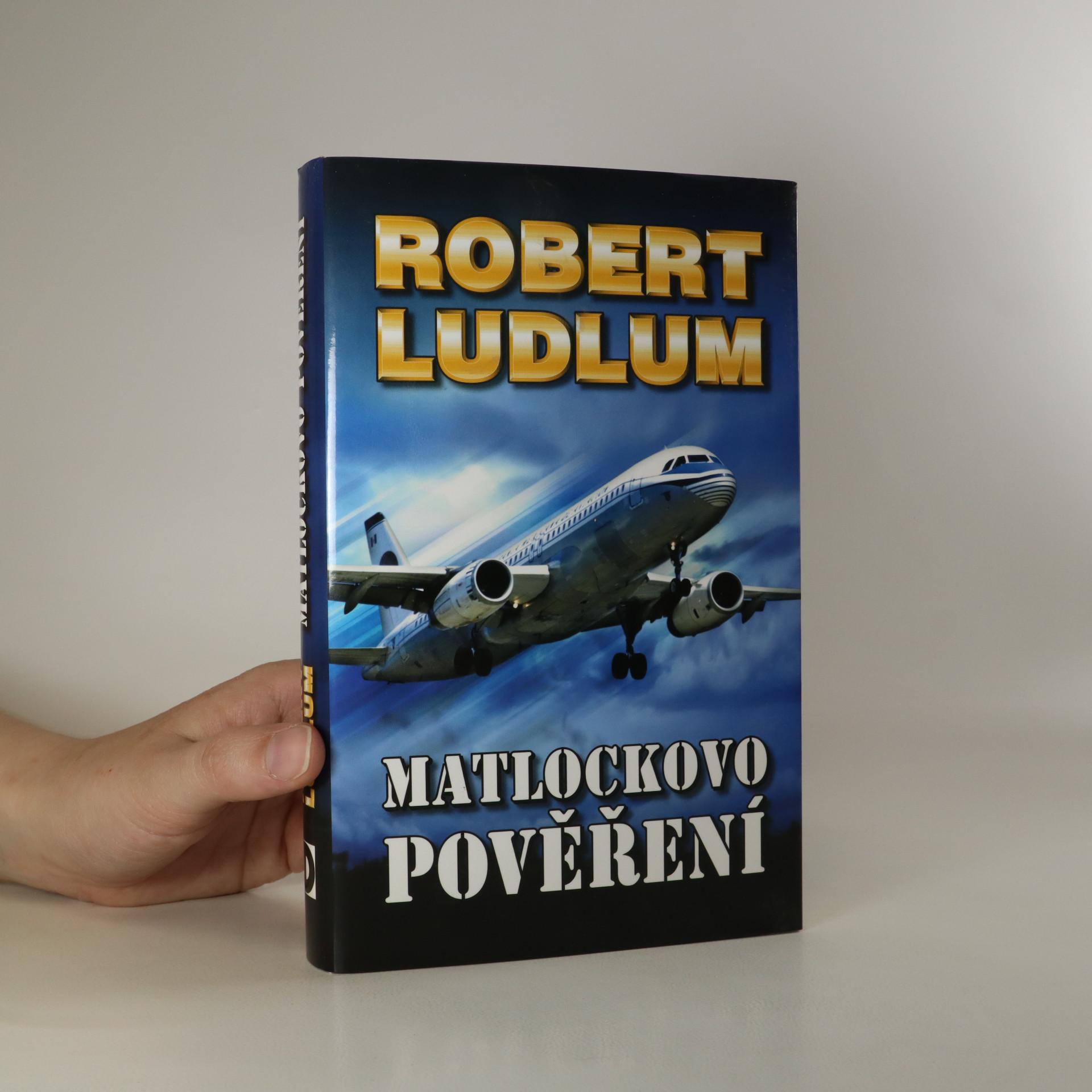 antikvární kniha Matlockovo pověření, 2007