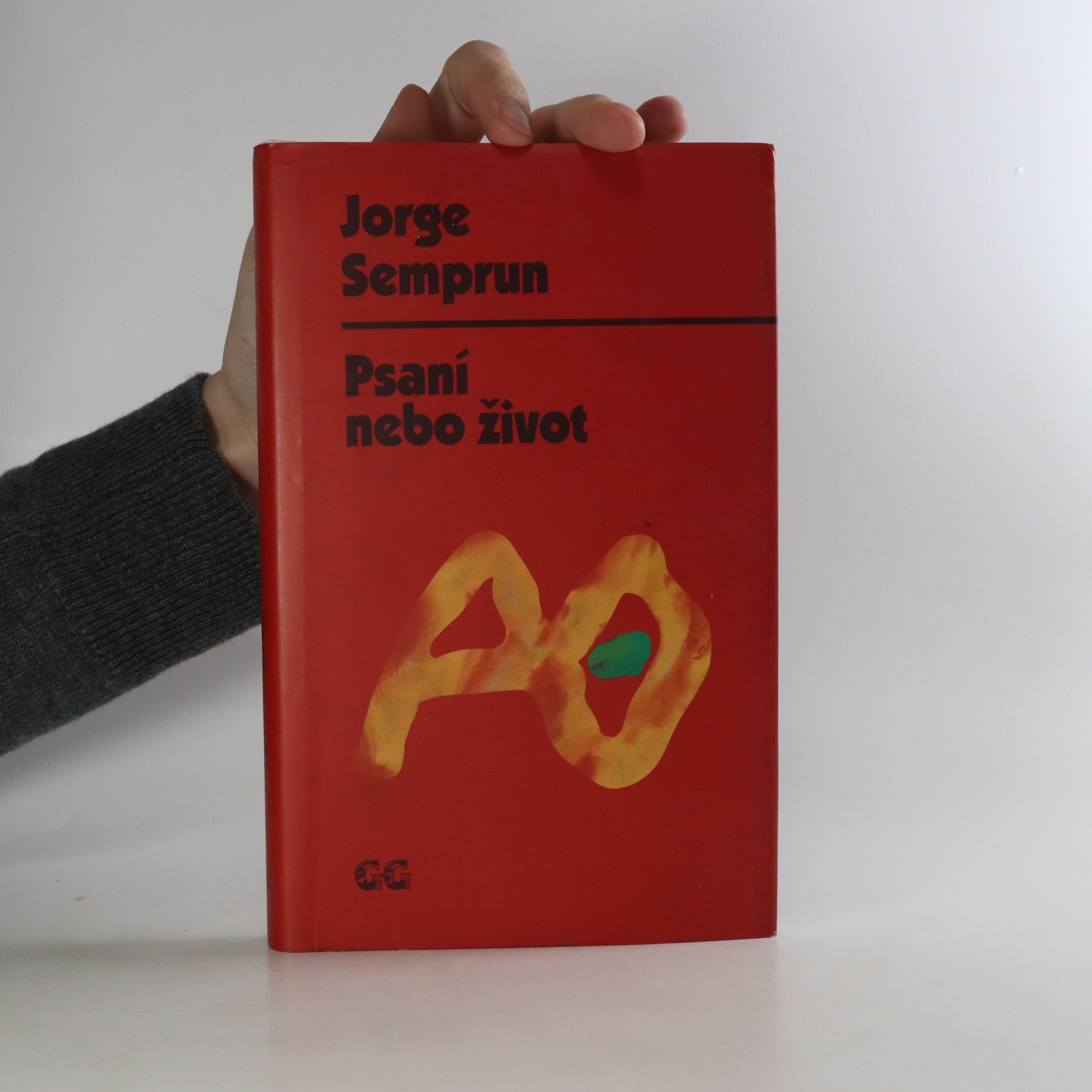 antikvární kniha Psaní nebo život, 1997