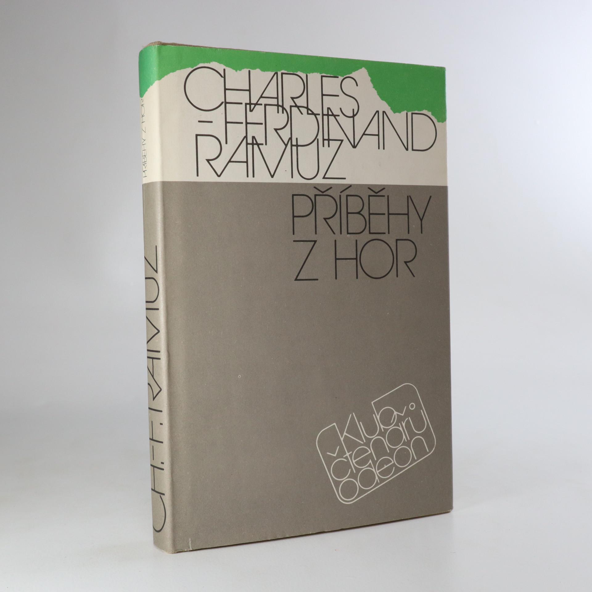 antikvární kniha Příběhy z hor, 1988