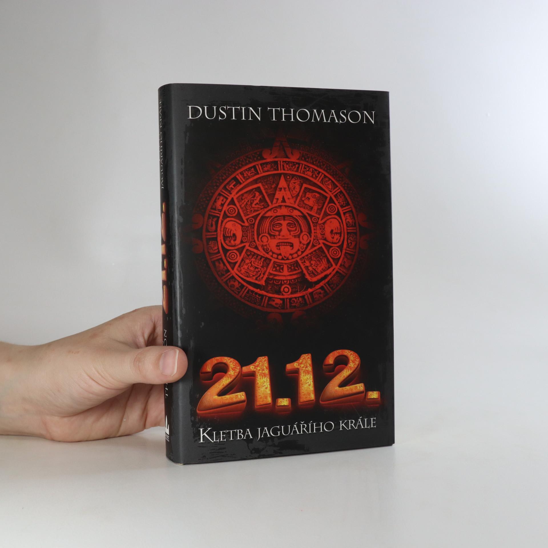 antikvární kniha 21.12. Kletba jaguářího krále, 2012