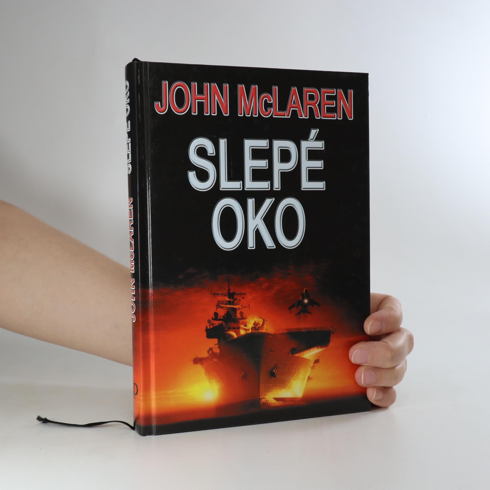 antikvární kniha Slepé oko, 2008
