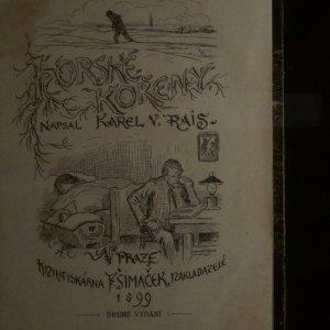 antikvární kniha Horské kořeny, 1899