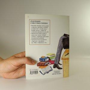 antikvární kniha Znáš pojmy z mluvnice češtiny? Slovníček pro ZŠ a nižší ročníky víceletých gymnázií, 1998