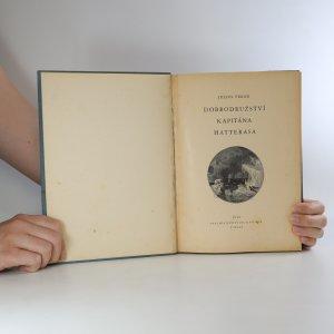 antikvární kniha Dobrodružství kapitána Hatterasa, 1930