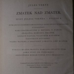 antikvární kniha Zmatek nad zmatek, 1957