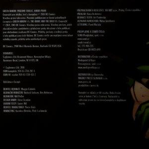 antikvární kniha Green Arrow. Prázdný toulec, neuveden