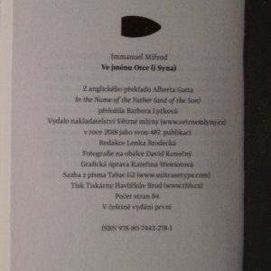 antikvární kniha Ve jménu Otce (i Syna), 2018