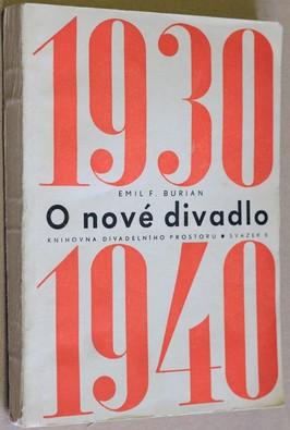 náhled knihy - O nové divadlo : 1930-1940