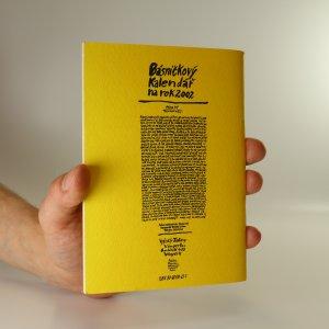 antikvární kniha Básničkový kalendář na rok 2002, 2001