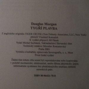 antikvární kniha Tygří plavba, 2001