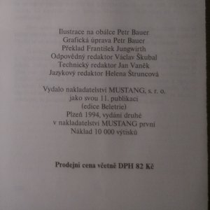 antikvární kniha Temná aréna, 1994