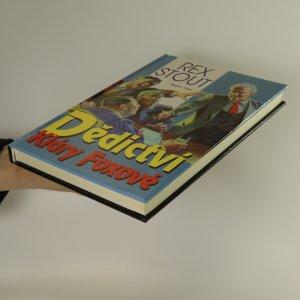 antikvární kniha Dědictví Kláry Foxové, 1994