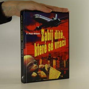 náhled knihy - Zabij dítě, které se vrací