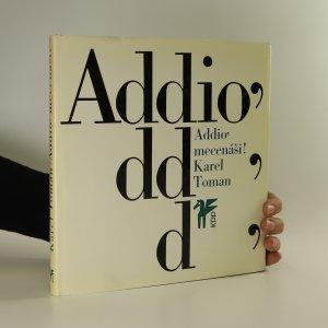náhled knihy - Addio' mecenáši! (včetně gramodesky)