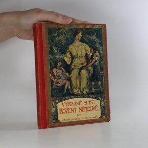 náhled knihy - Vybrané spisy Boženy Němcové díl IV. Pohorská vesnice, Dobrý člověk