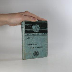 náhled knihy - Paní z námoří (poškozeno, viz foto)