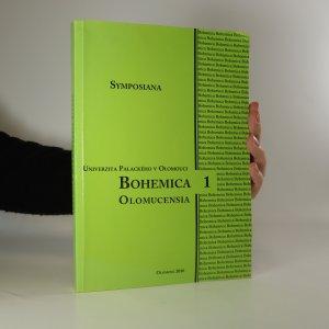 náhled knihy - Bohemica Olomucensia 1. Symposiana (roč. 2)