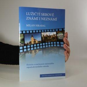 náhled knihy - Lužičtí Srbové známí i neznámí