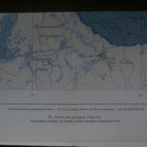 antikvární kniha Mapy ČSSR 1:1 000 000. 5x (viz foto)., 1966