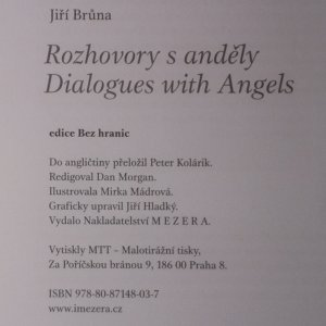 antikvární kniha Rozhovory s anděly. Dialogues with angels, 2008