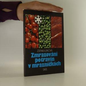 náhled knihy - Zmrazování potravin v mrazničkách