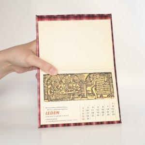 antikvární kniha Reprodukce z lidového kalendáře ze XVII. stol. Rok 1977, neuveden