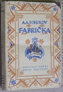náhled knihy - Fabrička