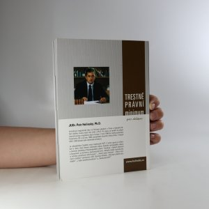 antikvární kniha Trestněprávní minimum pro občany (bez tiráže), neuveden