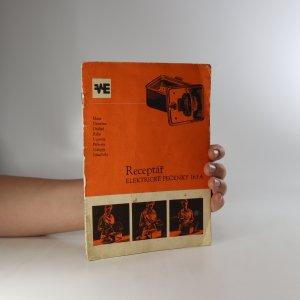 náhled knihy - Receptář elektrické pečenky 163 A (bez tiráže)