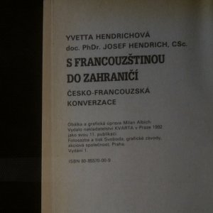 antikvární kniha S francouzštinou do zahraničí, 1992
