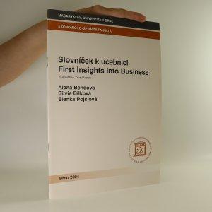 náhled knihy - Slovníček k učebnici First Insights into Business