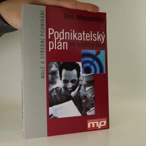 náhled knihy - Podnikatelský plán pro úspěšný start