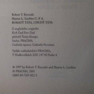 antikvární kniha Bohatý táta, chudý táta. Co bohatí učí svoje děti a chudí a střední vrstvy ne, 2001