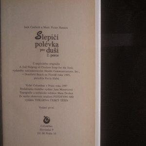 antikvární kniha Slepičí polévka pro duši, 1997