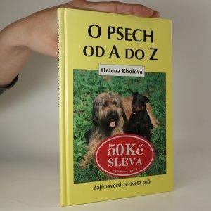 náhled knihy - O psech od A do Z