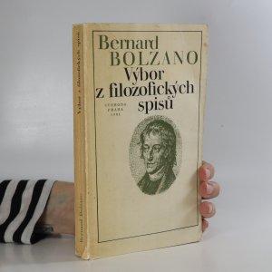 náhled knihy - Výbor z filozofických spisů