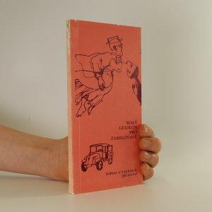 náhled knihy - Malý lexikon pro zamilované