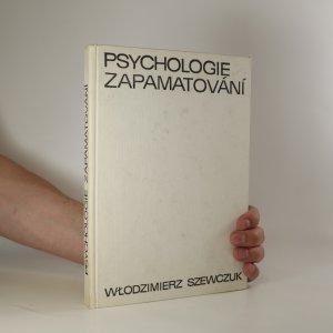 náhled knihy - Psychologie zapamatování