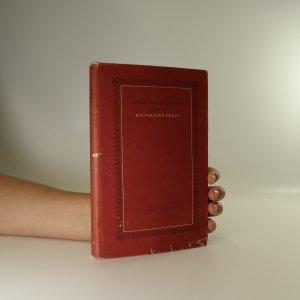 náhled knihy - Historické prózy