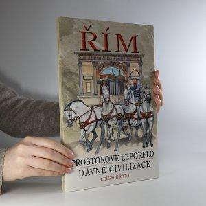 náhled knihy - Řím. Prostorové leporelo