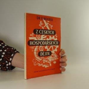 náhled knihy - Z českých hospodářských dějin
