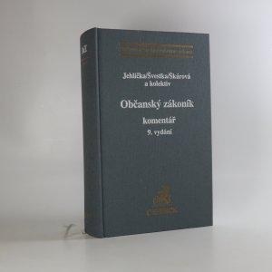 náhled knihy - Občanský zákoník. Komentář