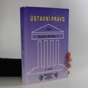 náhled knihy - Ústavní právo 1999