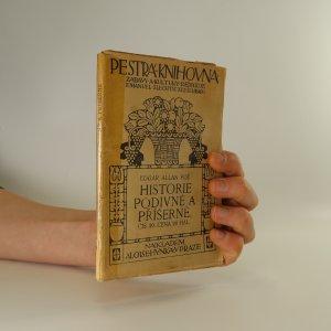 náhled knihy - Historie podivné a příšerné